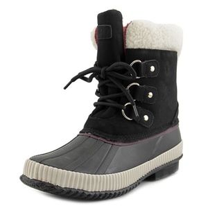Tommy Hilfiger Womens Ebonie Snow Duck Boot Size 8